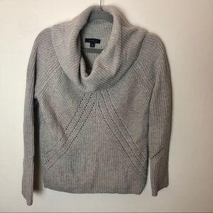 Ann Taylor chunky knit turtle neck sweater